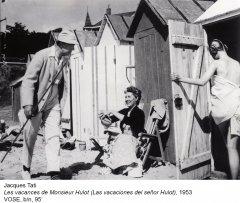 Jacques Tati. Las vacaciones del señor Hulot, 1953