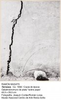 Terrasa . ca 1956. Masats Tartera, Ramón