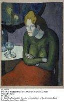 Pablo Picasso. Buveuse d'absinthe, 1901