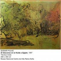 Sigmar Polke. El descanso en la Huida a Egipto, 1997