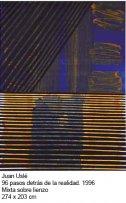 Juan Uslé, 96 pasos detrás de la realidad, 1996