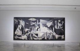 Vista de sala del Guernica
