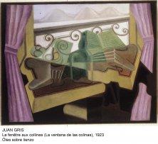 Juan Gris. La ventana de las colinas. 1923