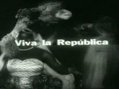 Pastor Vega. ¡Viva la República! Película, 1972