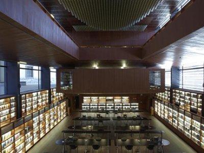 Vista de la Biblioteca del Museo Reina Sofía