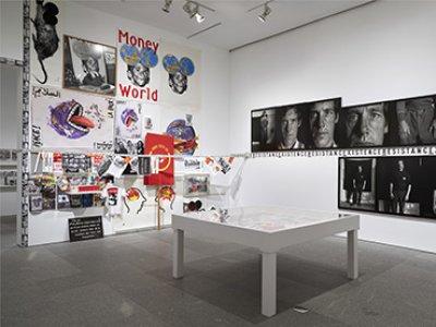 Vista de la exposición Marc Pataut. Primeras tentativas. Museo Reina Sofía, 2018