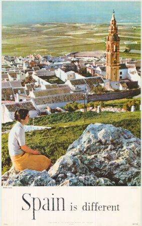 Estepa, Sevilla. Serie Serie Spain is different. Dirección General de Turismo, 1962. Fuente: Colección del Centro de Documentación Turística de España, Instituto de Turismo de España www.tourspain.es