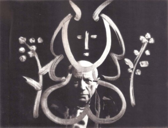 Visit to Picasso of Paul Haesaerts