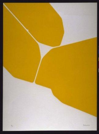 Pablo Palazuelo, Gótica III, 1972. Aguatinta sobre papel Arches, 78 x 58 cm