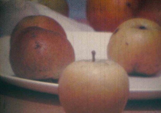 Malcolm Le Grice, Academic Still Life (Cézanne)
