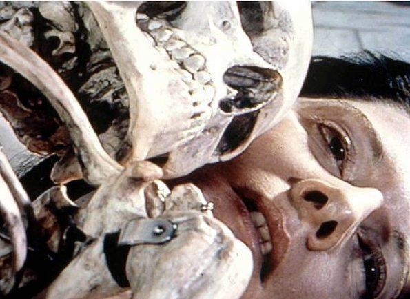 Marina Abramović. Cleaning the Mirror II, 1995