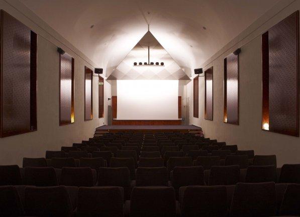 View of the Sabatini Auditorium