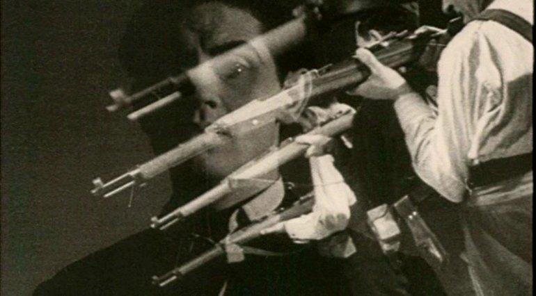 Carlos Arévalo. Rojo y negro. Película, 1942