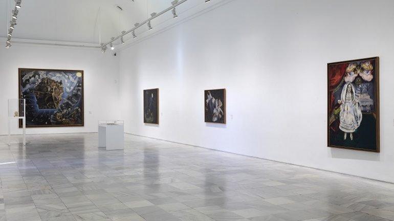 Vista de sala del Museo