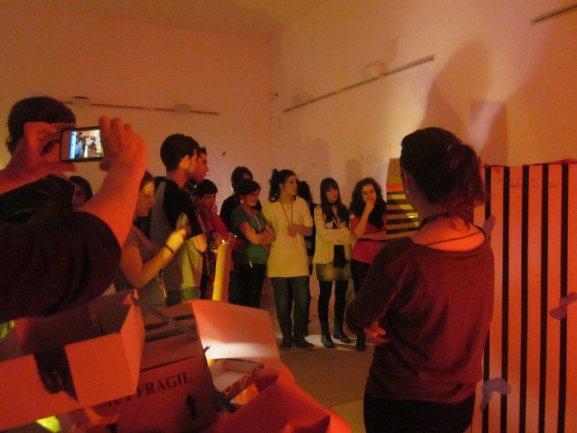 Los participantes de Equipo en Abierto aplicando su modelo de cultura a la ciudad