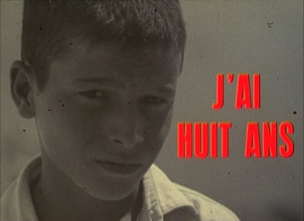 Yann Le Masson. J'hai huit ans, 1961