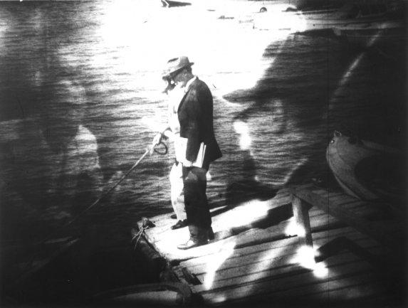 William S. Burroughs y Antony Balch. The Cut-Ups, 1967 Cortesía del British Film Institute. Copyright (c) the William S. Burroughs S. Trust