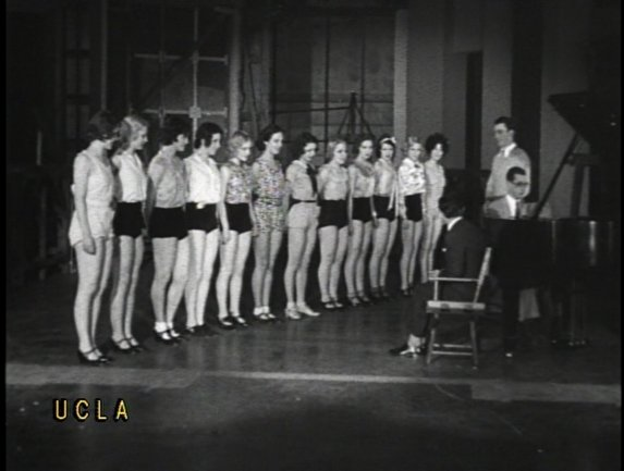 Archive material from Hearst newsreels. How stars are made at MGM Dramatic School. Hollywood California Copy provided by the UCLA Film and Television Archive, Los Angeles