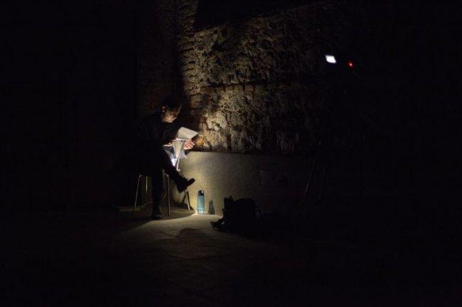 Mattin. Performance colectiva para bóvedas y voces