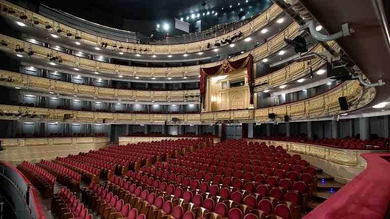 Vista del Teatro Real. Fotografía @Javier del Real