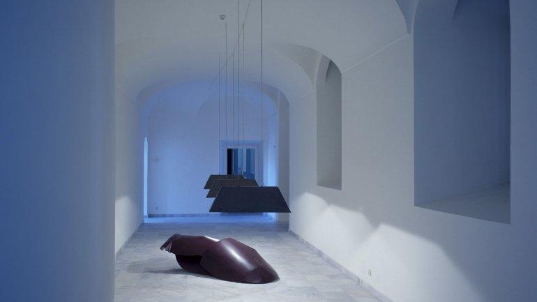 Exhibition view. Raumbilder: cinco escultores alemanes en Madrid, 1987