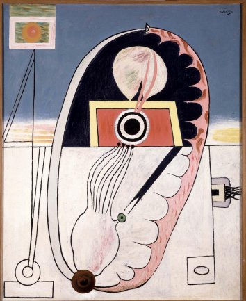 Manuel Angeles Ortiz. Sin titulo, 1929-1933. Painting. Museo Nacional Centro de Arte Reina Sofía Collection, Madrid