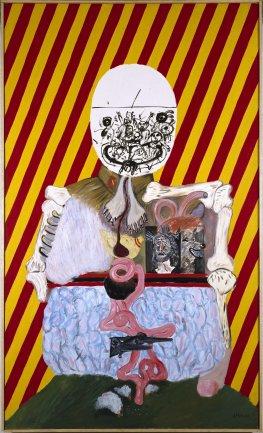 Eduardo Arroyo. Los cuatro dictadores, 1963. Pintura. Colección Museo Nacional Centro de Arte Reina Sofía, Madrid
