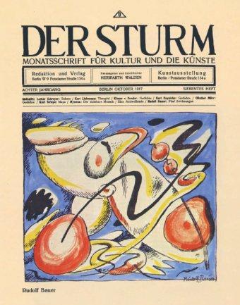 Magazine Der Sturm, 1917. Biblioteca y Centro de Documentación, Museo Nacional Centro de Arte Reina Sofía, Madrid