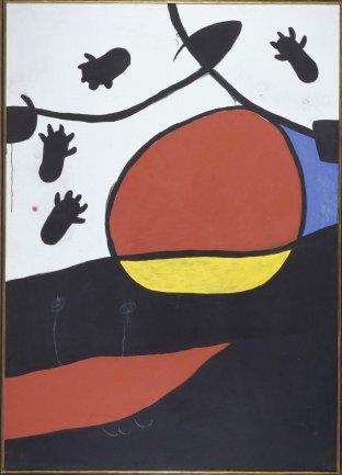Joan Miró. Paysage (Landscape), 1974. Painting. Museo Nacional Centro de Arte Reina Sofía Collection, Madrid
