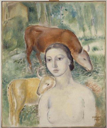 Joaquín Sunyer. Primavera (Spring), 1929. Painting. Museo Nacional Centro de Arte Reina Sofía Collection, Madrid
