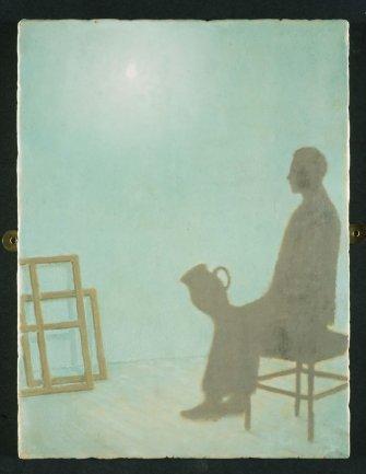 Francis Alÿs. No Title, 2000-2001. Painting. Museo Nacional Centro de Arte Reina Sofía Collection, Madrid