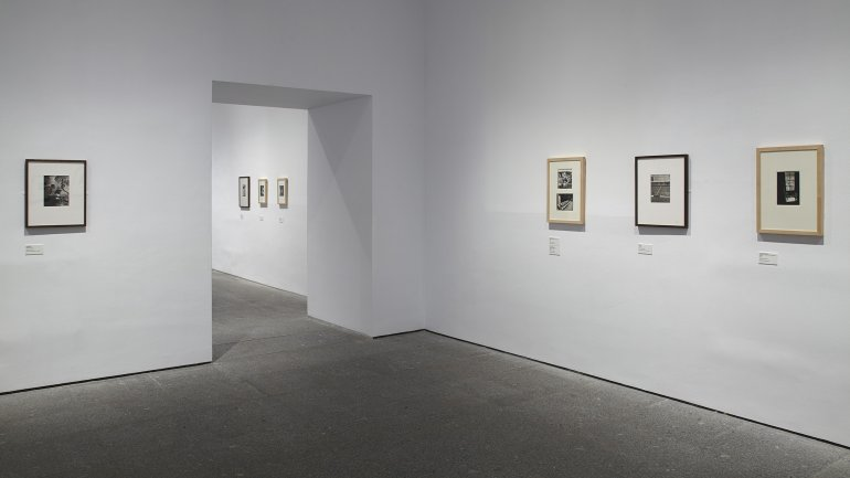 Exhibition view- Wols: Cosmos and Street, 2014