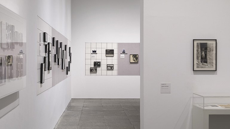 Exhibition view An Approach to Afal. The Autric-Tamayo Donation