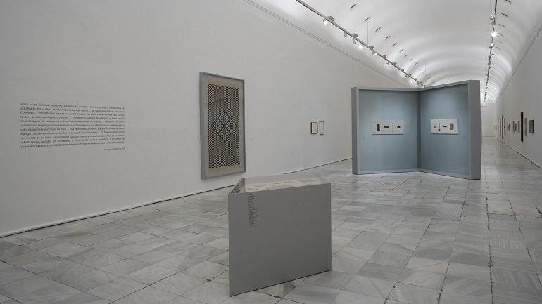 Exhibition view. Anni y Josef Albers. Latin American Journeys, 2006