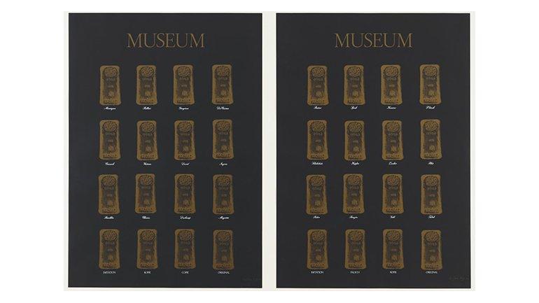 Marcel Broodthaers. Museum-Museum (Museo-Museo), 1972. The Museum of Modern Art, Nueva York. The Associates Fund, 1991 © The Estate of Marcel Broodthaers c/o SABAM Belgium – VEGAP 2016