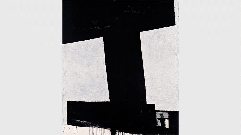 """Miguel Ángel Campano. Sin título 4, 1991. Óleo sobre lienzo, 195 x 168 cm. Colección """"la Caixa"""". Arte contemporáneo. © Miguel Ángel Campano, VEGAP, Madrid, 2019"""