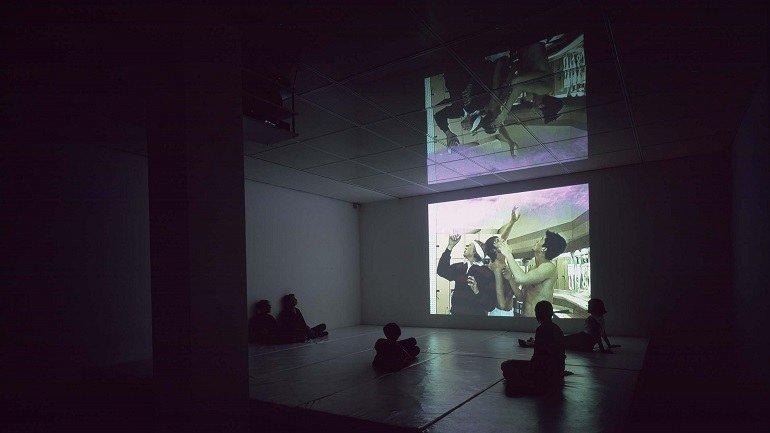 Carles Congost. Popcorn Love, 2001. Installation. Museo Nacional Centro de Arte Reina Sofía Collection, Madrid