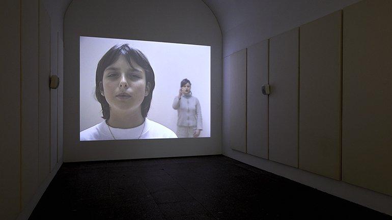 Vistas de la exposición Dora García. Segunda Vez