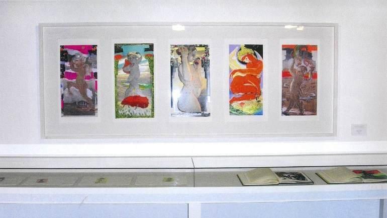 Vista de sala de la exposición. Carlos Franco. La obra gráfica, 2007