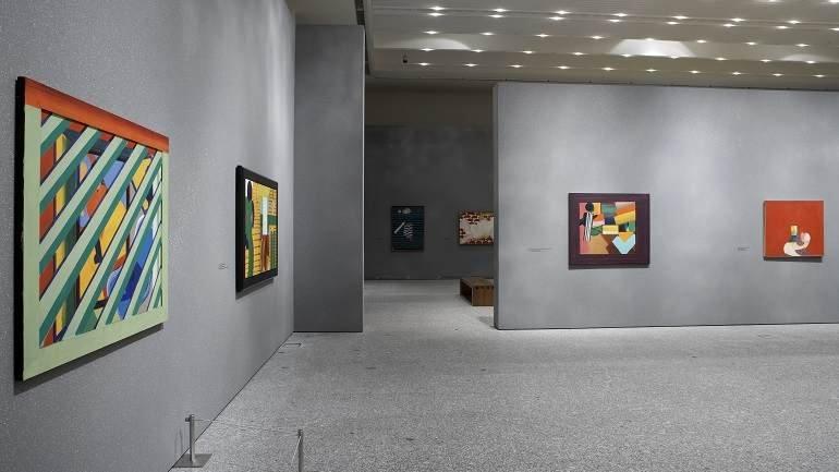 Exhibition view. Howard Hodgkin, 2006