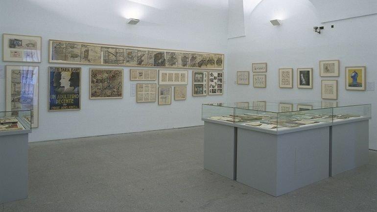 Exhibition view. Los humoristas del 27, 2002