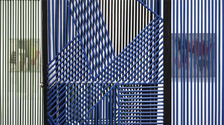 Vista de sala de la exposición. La invención concreta. Colección Patricia Phelps de Cisneros, 2013