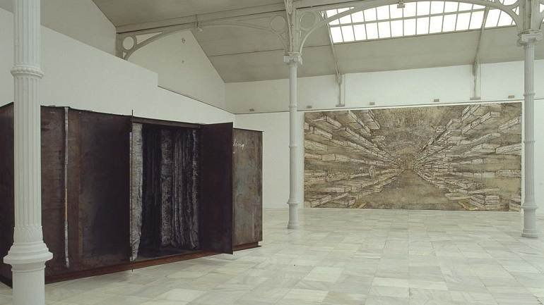 Exhibition view. Anselm Kiefer. El viento, el tiempo, el silencio, 1998