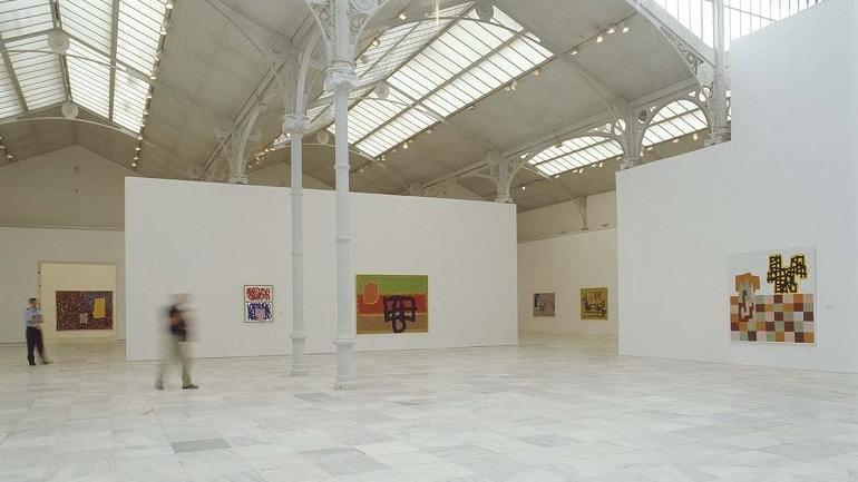 Exhibition view. Jonathan Lasker, 2003