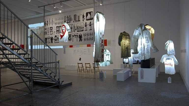 Exhibition view. The Potosí Principle. How shall we sing the Lord's song in a strange land?, 2010