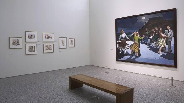 Exhibition view. Paula Rego, 2007