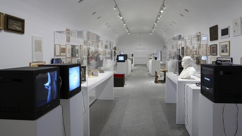Exhibition view. El retorno de lo imaginario. Realismos entre XIX y XXI, 2010