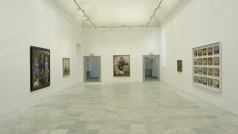 Vista de sala de la exposición. Diego Rivera. Retrospectiva, 1987