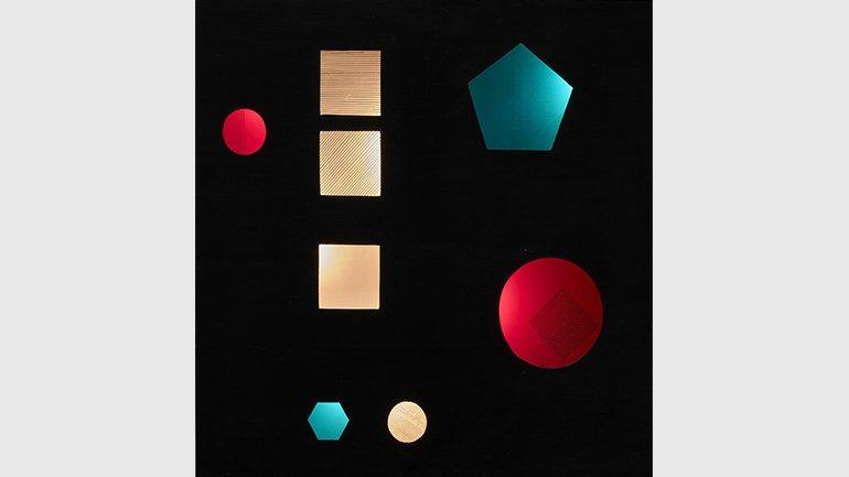 "Eusebio Sempere, Relieve luminoso móvil ""Ciudad"" [Mobile Luminous Relief ""City""]. Wood, acrylic, plastic, lamps and motor. The Muñoz Avia Family Collection. Photograph: Joaquín Cortés/Román Lores"