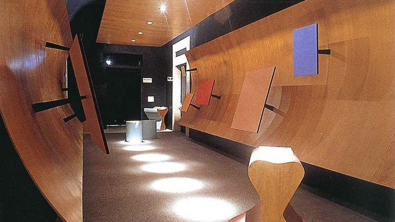 Vista de sala de la exposición. Surrealistas en el exilio y los inicios de la Escuela de Nueva York, 1999